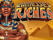 Виртуальный аппарат Ramesses Riches на деньги на египетскую тематику